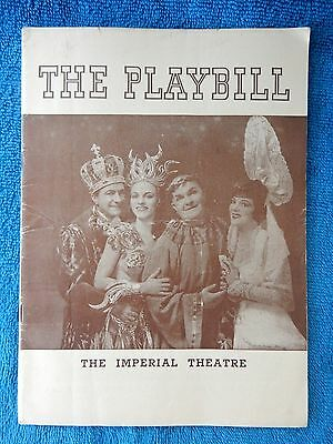 Louisiana Purchase - Imperial Theatre Playbill - July 29th, 1940 - Gaxton