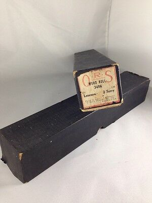 Vintage QRS Player Piano Rolls - Puddin Head Jones Fox Trot - Lonesome and Sorry