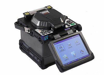 Fibre fusion splicer with Fiber Holders 5.6 inch TFT color LCD RY-F600P New