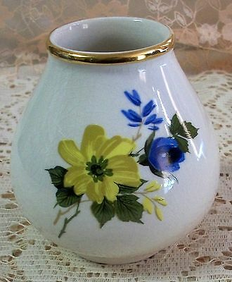 Vintage England Crown Devon Small Vase