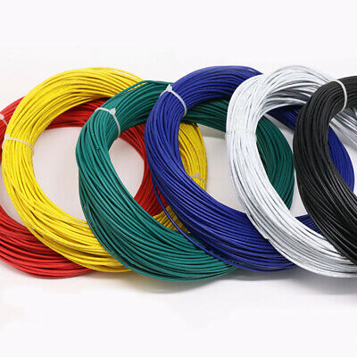Stranded UL1007 Cable 80°C 300V PVC Electric Equipment Wire 16/18/20/22AWG-30AWG