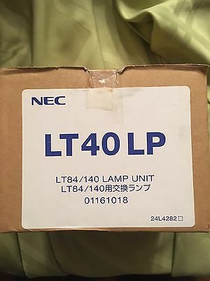 NEC LT40-LP Lamp Bulb With original Holder - New in Box