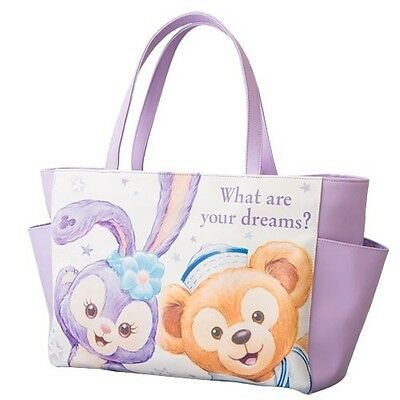 Tokyo Disney Sea Duffy friends  Stella Lou  tote bag from Japan NEW