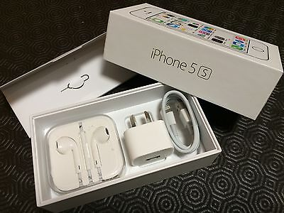 Apple Iphone 5s Box with ALL accessories, and documentation, complete
