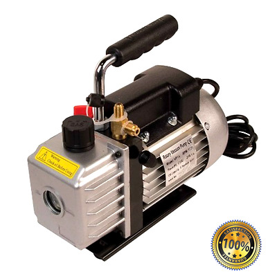 Two stage performance FJC 6905 1.5 CFM Vacuum Pump twin port technology.
