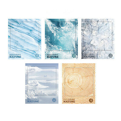Popular The Color of Nature Self-Adhesive Memo Pad Sticky Notes Bookmark