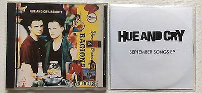 Hue And Cry - Remote Cd Album + September Song 4 Track Promo Cd