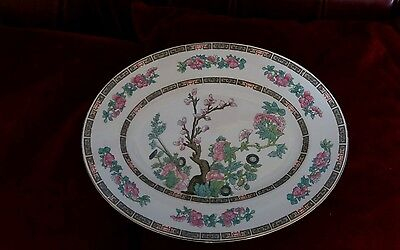 John Maddock And Sons England Indian Tree Oval Serving Platter 11.25 inches