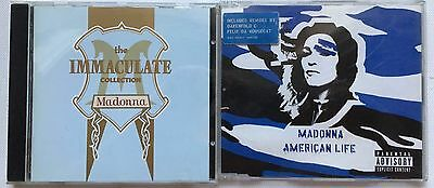 Madonna - Immaculate Collection Cd Album + American Life Cd Single