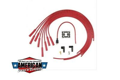 Zündkabel Set Universal Rot ACCEL 4040R Radical Red 8mm Ford Mopar Hot Rod Chevy
