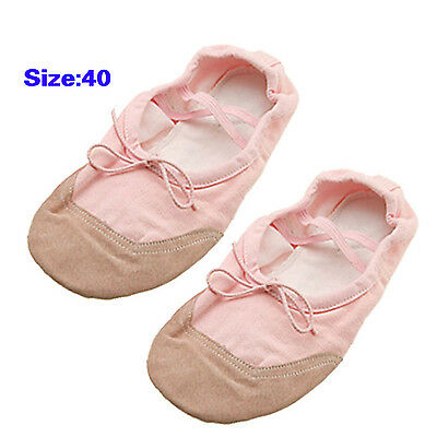 Lady Soft Sole Ballet Dance Dancing Shoes Size US 9.5 (UK 7) Pink BF