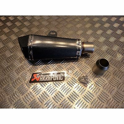 pot silencieux echappement adaptable  universel type akrapovic moto scooter quad