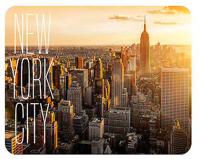 Mousepad New York City Mauspad Empire State Amerika Skyline Sonne