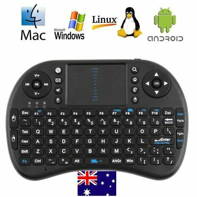 Mini Wireless Keyboard 2.4G with Touchpad Handheld Keyboard for PC Android TV UO