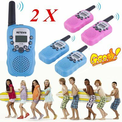 2x RT-388 Walkie Talkie 0.5W 22CH Two Way Radio For Kids Children Gift UO