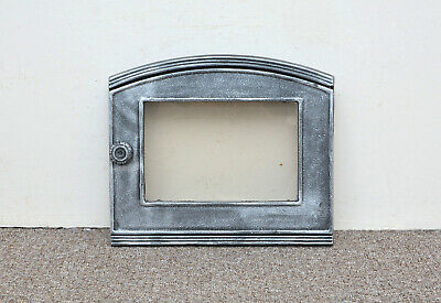 37 x 31.3 cm cast iron fire door clay bread oven doors pizza stove smoke house