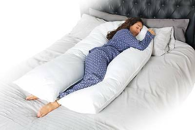 New 12 Ft/ 10 Ft/ 9 Ft Foot Maternity Pregnancy COMFORT U Pillow Only