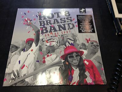 The Hot 8 Brass Band - On The Spot 2-Lp + Download New Mint Sealed 2017