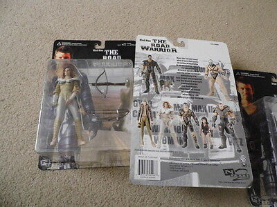 """N2  toys Mad max road warrior  """"warrior Woman"""" 2000  in box sealed mel gibson"""