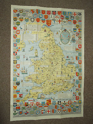 Historical Map of England & Wales Bartholomew L.G. Bullock Canvas Edition