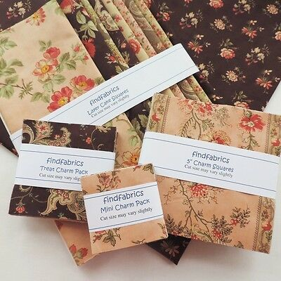 QUILT Moda Courtyard ~ Jelly Roll ~ Mini ~ Charm ~ Layer Cake Cuts ~ 20 PAIRS
