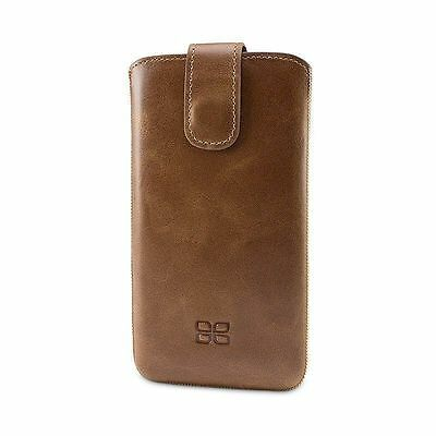 Bouletta Leather Wallet Case For Samsung Galaxy S6 Antic Brown G2 H1891 Cell Phone Accessories