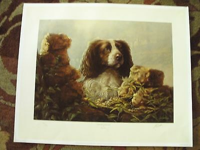 Dog:Country Companions; John Silver; Limited Edition; Signed Giclee Print;Great