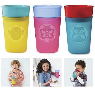 Skip Hop Turn & Learn Training Cup Toddler First Beaker Sippy Cup Variable Flow