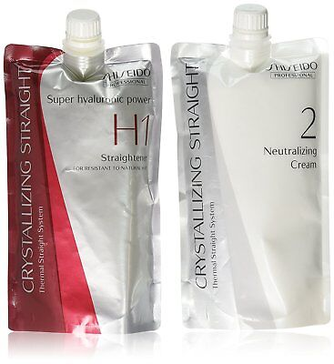shiseido crystallizing straight n1 n2 instructions
