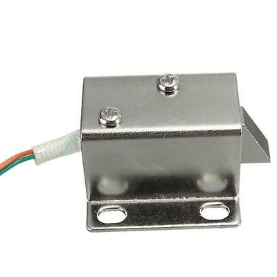 DC 12V Electric Solenoid Lock Tongue Upward Assembly for Door Cabinet Drawer L