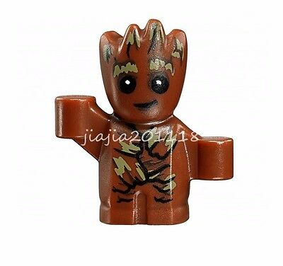 Minifigures Baby Groot Guardians of the Galaxy 2 Movie Vin Diesel Building Toys