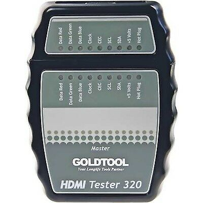 Goldtool 79996b Tester for HDMI Cable Black