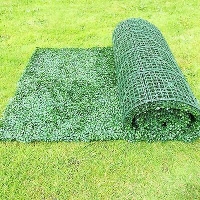 Artificial UV Boxwood Hedge Roll Screening Privacy Screen Garden Fence 1m x 3m