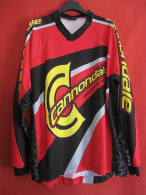 Maillot Moto cross Cannondale Racing enduro Style vintage Shirt Rallye - L