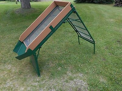 """New ,1/2"""" & 3/4"""" Mesh Mining Or Garden Soil Screen With Inter Changeable Screens"""