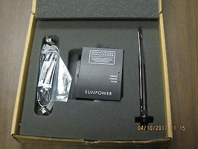 Sunpower Data Logger NEW in box with accessories