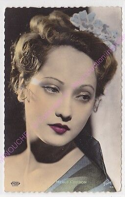 Cpsm Rppc Star Merle Oberon Photo United Artists Viny 53