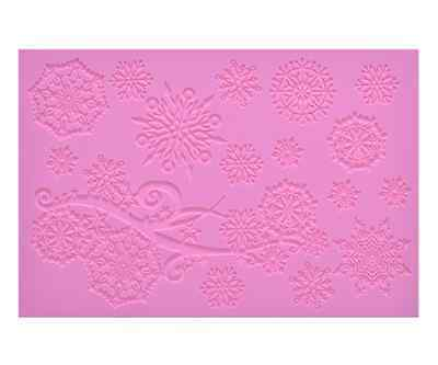 Silicone VICTORIANA CAKE LACE Mat Mold for Edible Sugar Lace by Claire Bowman