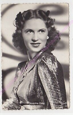 Cpsm Rppc Star Josette Day Photo Star Viny 65