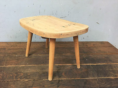 Vintage Wooden Stool / Foot Stool / Step / Bench, Rustic, Farmhouse, Mid-Century