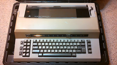 Vintage Sears Electronic Communicator 2 Word Processor Typewriter Works Great