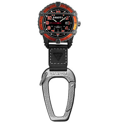 Dakota Phase III Military Backpacker-Black with Orange Dial