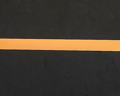 ".75"" Yellow Chrome Full Size Football Helmet Stripe Decal 20 Mil High Quality."