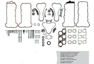 Genuine HOLDEN CAPTIVA / RODEO / COLORADO V6 3.2 Complete Timing chain Kit 05-12