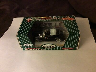 Texaco Gearbox diecast 1940 Ford Deluxe Coupe new in box