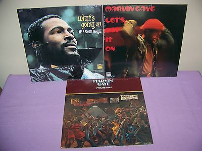 Marvin Gaye Ultimate  Vinyl  Lp Set Of 3 Sealed Whats Going.lets Get It, I Want