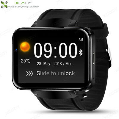 3G Smart Watch Android 4GB Bluetooth WIFI GPS For iPhone Samsung iOS+Sim Camera