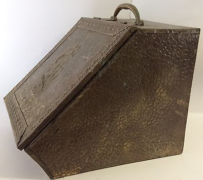 Antique Fireplace Coal Container