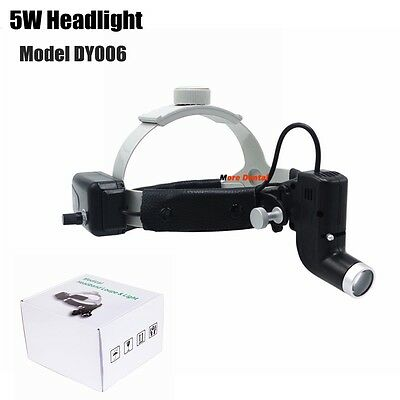 5W Dental Surgical LED Headlight Lamp Good Light Spot Headband Lamp ENT Specific