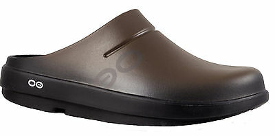 Oofos Ooclog Sport Brown Matte finish Comfort Recovery Clog
